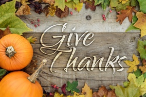 Thanksgiving, Give Thanks